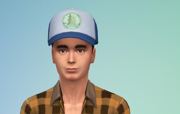 Sims 4 Outdoor Leben Männer Hut 1 Farbe 6