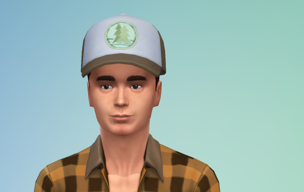 Sims 4 Outdoor Leben Männer Hut 1 Farbe 8