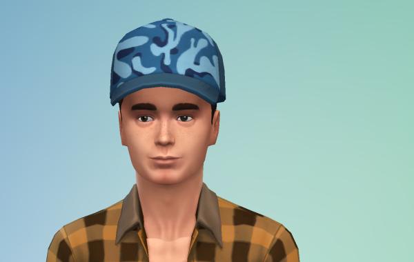Sims 4 Outdoor Leben Männer Hut 1 Farbe 9