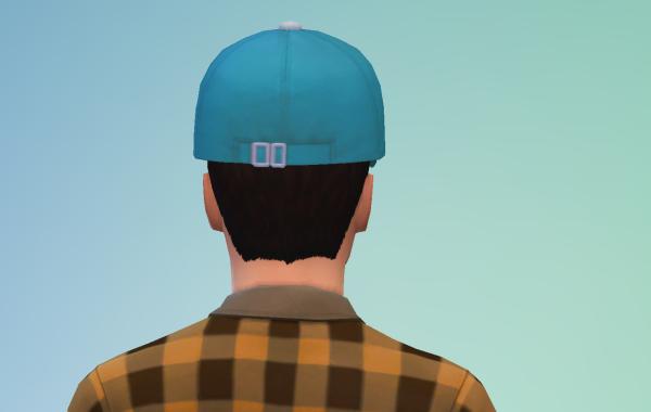 Sims 4 Outdoor Leben Männer Hut 1 hinten