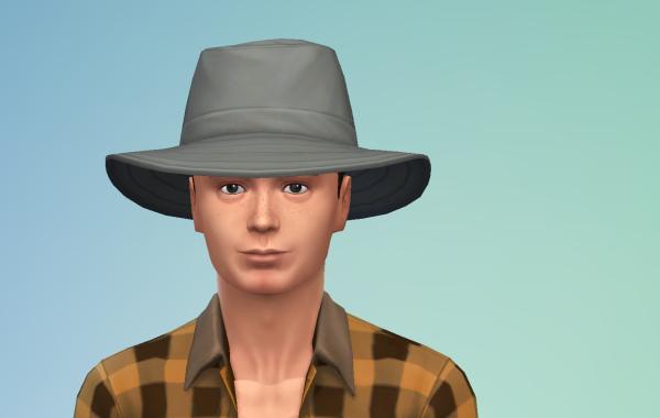 Sims 4 Outdoor Leben Männer Hut 2 Farbe 4