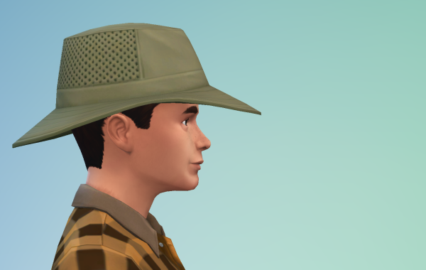 Sims 4 Outdoor Leben Männer Hut 2 Seite