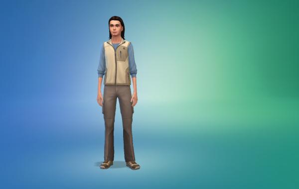 Sims 4 Outdoor Leben Männer vorgeferte Looks 1