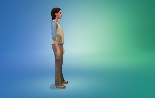 Sims 4 Outdoor Leben Männer vorgeferte Looks 2