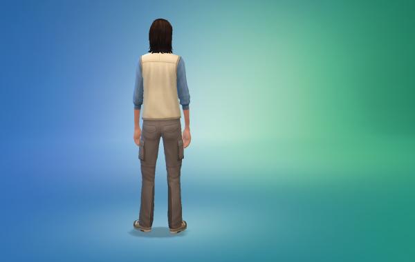 Sims 4 Outdoor Leben Männer vorgeferte Looks 3