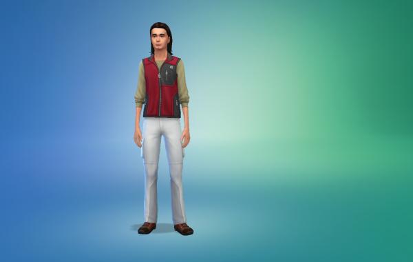 Sims 4 Outdoor Leben Männer vorgeferte Looks 4