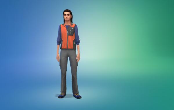 Sims 4 Outdoor Leben Männer vorgeferte Looks 5