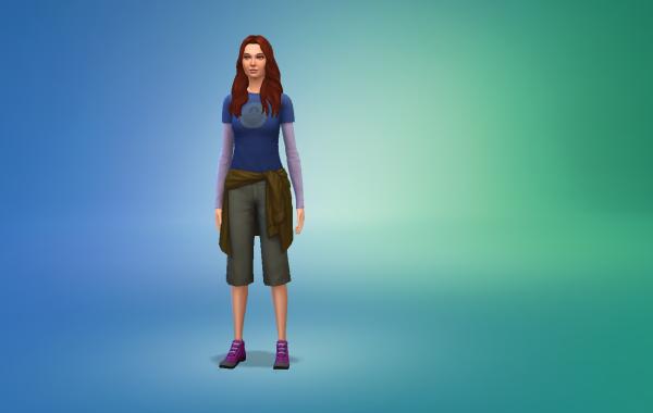Sims 4 Outdoor Leben Outfit 1 Farbe 10