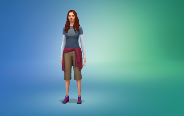 Sims 4 Outdoor Leben Outfit 1 Farbe 11
