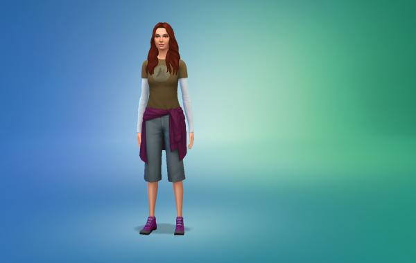 Sims 4 Outdoor Leben Outfit 1 Farbe 18