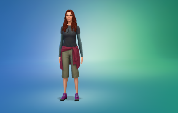 Sims 4 Outdoor Leben Outfit 1 Farbe 19