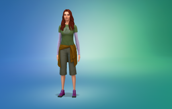 Sims 4 Outdoor Leben Outfit 1 Farbe 20
