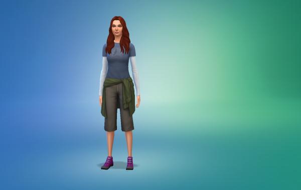 Sims 4 Outdoor Leben Outfit 1 Farbe 24