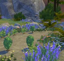 Sims 4 Outdoor Leben Pflanzenecke Tiefe Wald 2