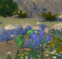 Sims 4 Outdoor Leben Pflanzenecke Tiefer Wald