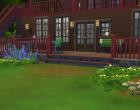 Sims 4 Outdoor Leben Terasse hinten