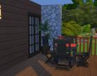 Sims 4 Outdoor Leben Terasse oben 3