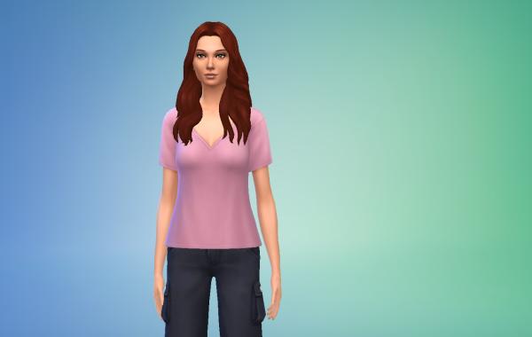Sims 4 Outdoor Leben Top 4 Farbe 1