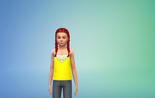 Sims 4 Outdoor Leben Top 4 Farbe 7+