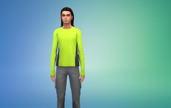 Sims 4 Outdoor Leben Top 6 Farbe 1
