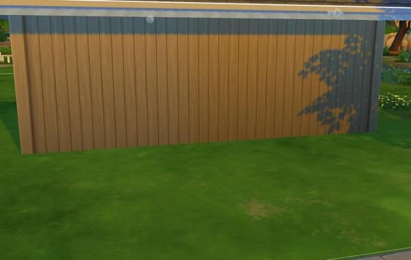 Sims 4 Outdoor Leben Vertikale Schindel – Ecke