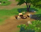 Sims 4 Outdoor Leben Waldzuflucht Garten 2
