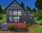 Sims 4 Outdoor Leben Waldzuflucht Hinten