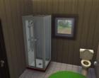 Sims 4 Outdoor Leben Waldzuflucht Obergeschoss Badezimmer