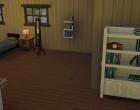 Sims 4 Outdoor Leben Waldzuflucht Obergeschoss SChlafzimmer 3