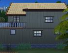 Sims 4 Outdoor Leben Waldzuflucht Seitenansicht