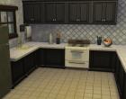 Sims 4 Outdoor Leben Waldzuflucht Untergeschoss Küche