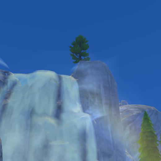Sims 4 Outdoor Leben Wasserfall 3