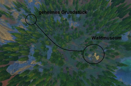 Sims 4 Outdoor Leben Weg zum geheimen Grundstück