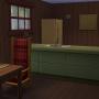 Sims 4 Outdoor Leben Zuflucht am Flussufer Esszimmer