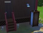 Sims 4 Outdoor Leben Zuflucht am Flussufer Garten 1