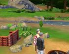 Sims 4 Outdoor Leben Zuflucht am Flussufer Garten 3