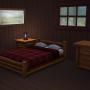 Sims 4 Outdoor Leben Zuflucht am Flussufer Garten Schlafzimmer+