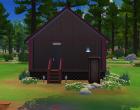 Sims 4 Outdoor Leben Zuflucht am Flussufer Hinten