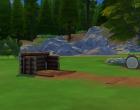 Sims 4 Outdoor Leben Zuflucht am See Garten 1