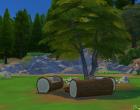 Sims 4 Outdoor Leben Zuflucht am See Garten 2