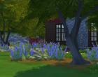 Sims 4 Outdoor Leben Zuflucht am See Garten 3