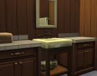 Sims 4 Outdoor Leben Zuflucht am See Obergeschoss Badezimmer