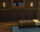 Sims 4 Outdoor Leben Zuflucht am See Obergeschoss Schlafzimmer A