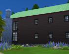 Sims 4 Outdoor Leben Zuflucht am see Seite außen