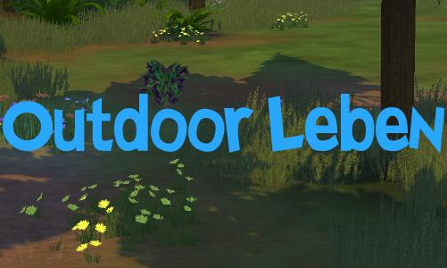 Sims 4 Outdoor Leben alle Gegenstände