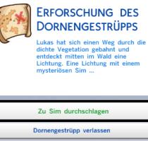 Sims 4 geheimes Grundstück Text 4