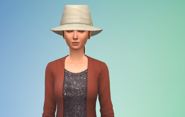 Sims 4 Outdoor Leben Hut 3 vorne