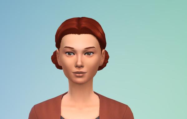 Sims 4 Outdoor Leben Kurzhaarschnitt vorne