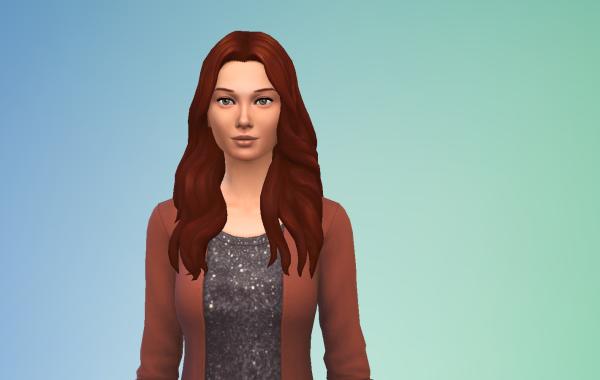 Sims 4 Outdoor Leben Langhaarschnitt 2 vorne