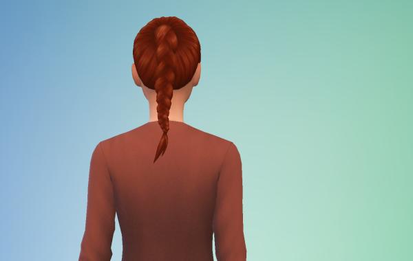 Sims 4 Outdoor Leben Langhaarschnitt 3 hinten